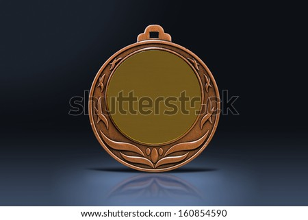 Medal in the spotlight