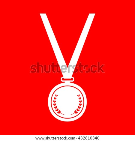 Medal simple sign