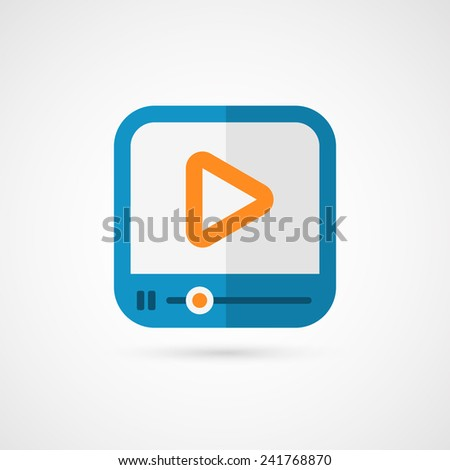 Media player. - stock photo