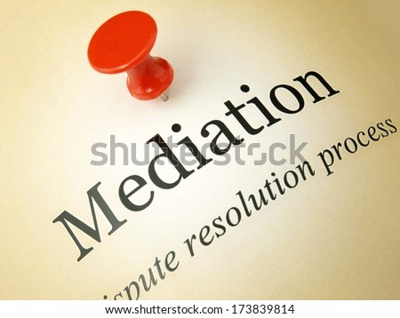 Mediation documents
