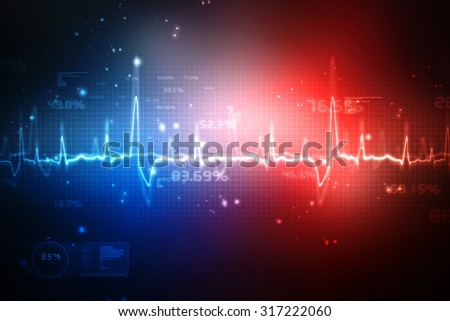 Medical abstract background - stock photo