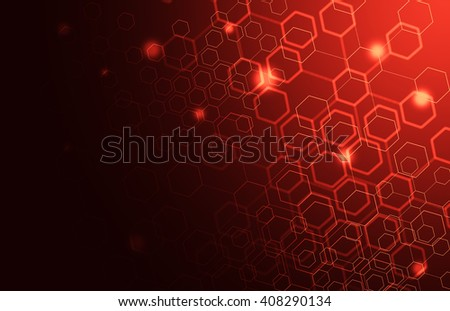 Medical Abstract in Science and Biology Research - stock photo