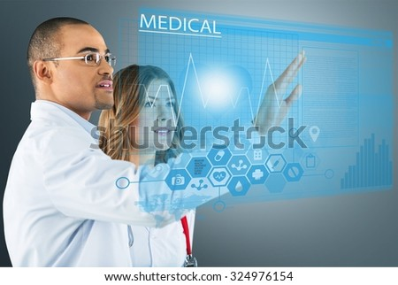 Medical application. - stock photo