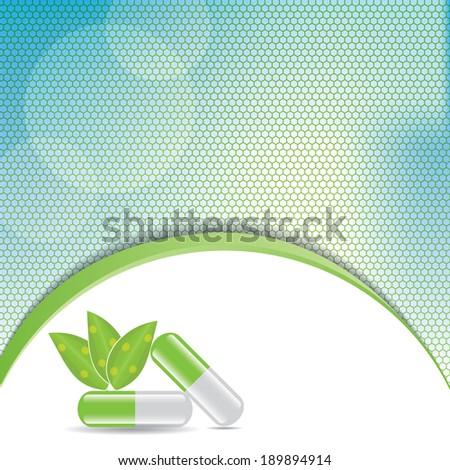 Medical background . - stock photo