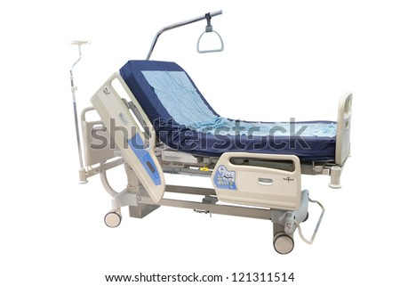 medical bed - stock photo