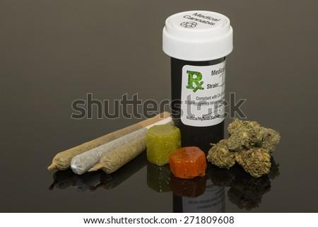 Medical Cannabis - stock photo