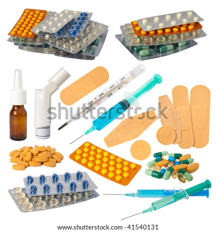 Medical collection - stock photo