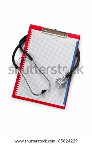 Medical concept with stethoscope