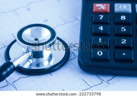 Medical Costs - stock photo