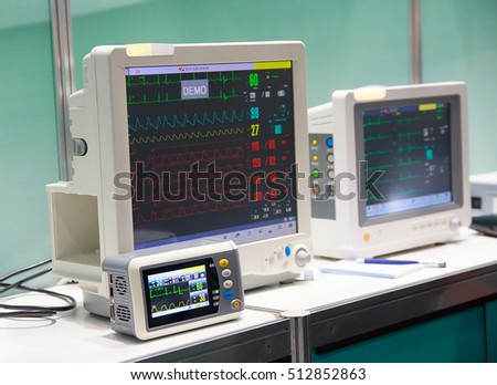 Medical diagnostic equipment for sale. Medicine and Healthcare