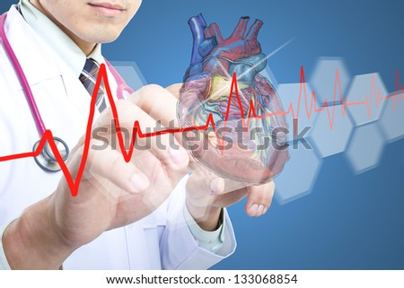 Medical doctor checking your healthy concept  in hospital