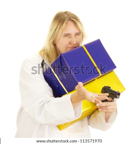 Medical doctor with gifts and a gun