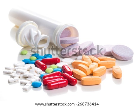Medical Drugs - stock photo