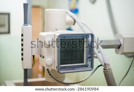 medical equipment,X-ray - stock photo