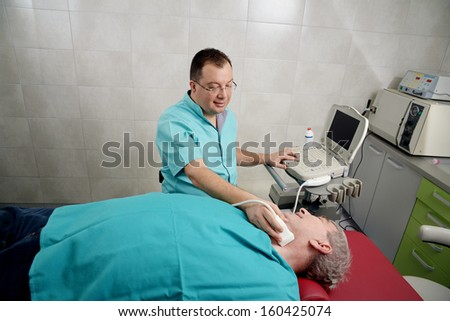 Medical examination - stock photo