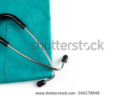 medical examination, medicine and therapy, background - stock photo