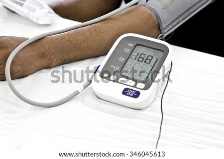 Medical for measuring blood pressure
