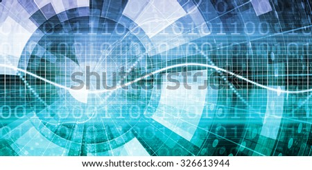 Medical Health System Technology as a Software - stock photo
