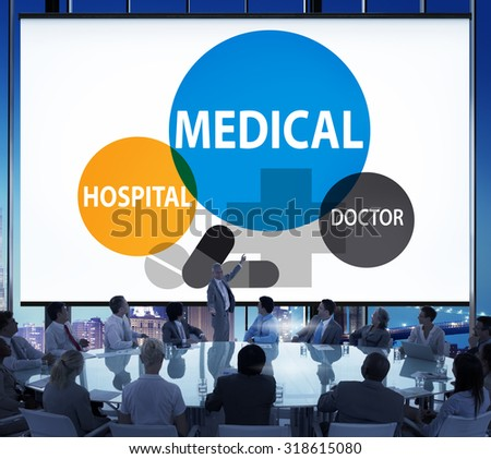 Medical Hospital Healthcare Wellness Life Concept - stock photo