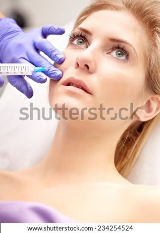 medical injection - stock photo