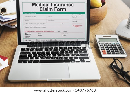Insurance Claim Form Stock Images RoyaltyFree Images  Vectors