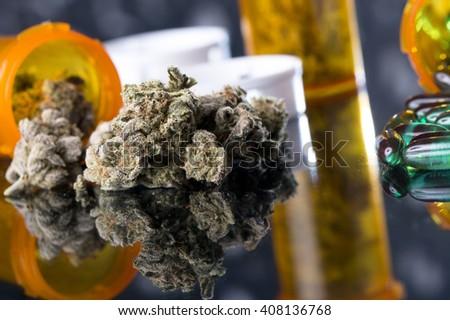 Medical Marijuana - stock photo