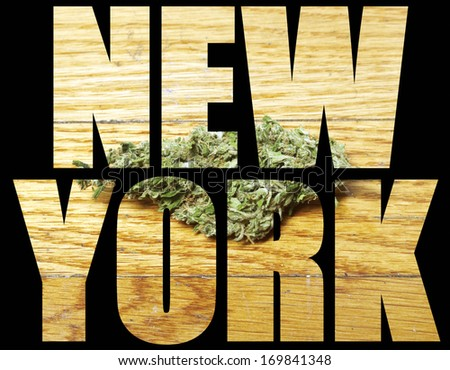 Medical Marijuana, New York - stock photo
