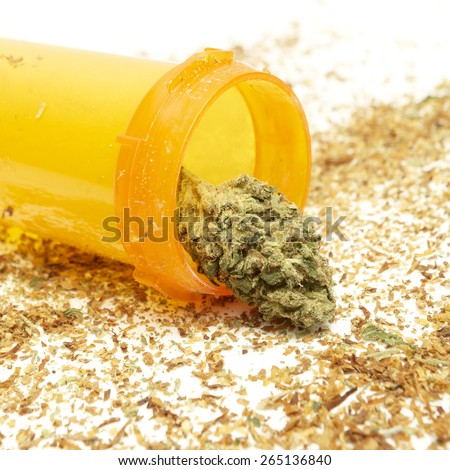 medical marijuana, prescription bottle
