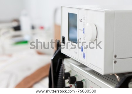 Medical monitor - stock photo