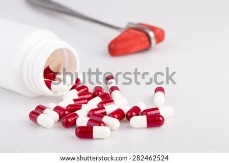 medical object isolate on white background - stock photo