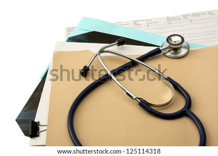 Medical objects - stock photo