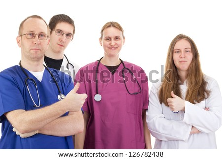 Medical people - stock photo