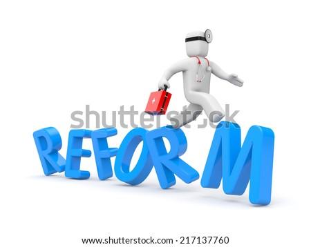 Medical reform - stock photo