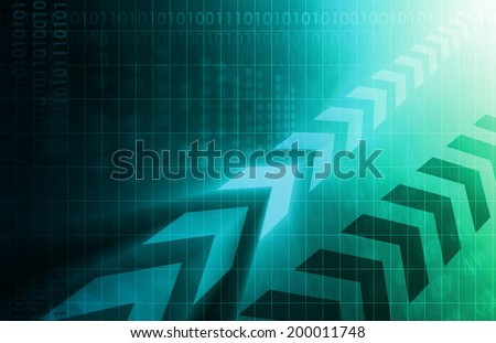 Medical Research and Trials a Abstract Background - stock photo