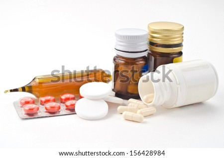 Medical supplies   - stock photo