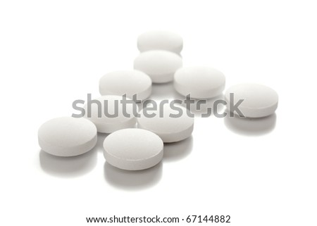 medical tablets - stock photo