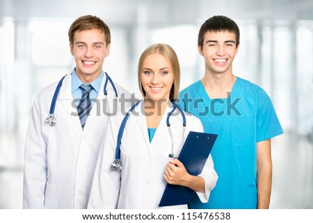 Medical team in the hospital