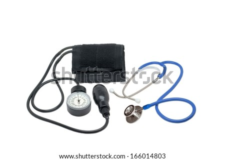 Medical tonometer and stethoscope