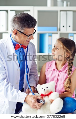 Medical treatment - stock photo