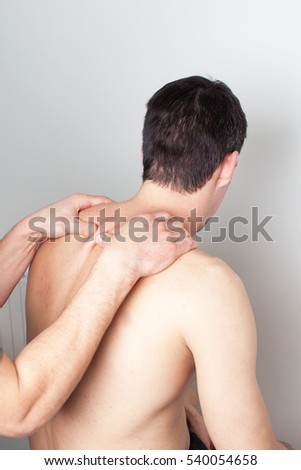 medical treatment on the back