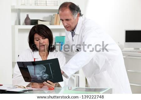 Medical x-ray - stock photo