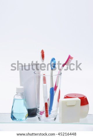 medicine cabinet isolated on white