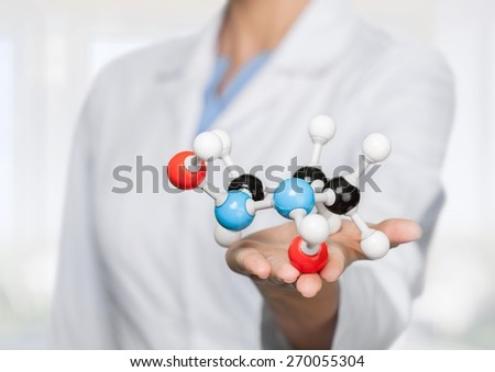 Medicine, Chemical, DNA. - stock photo