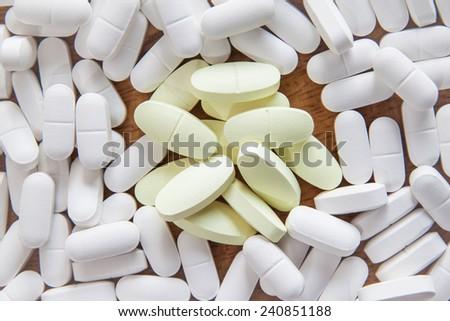 medicine pill - stock photo