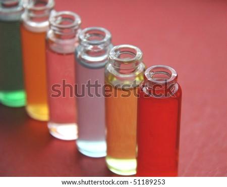 Medicine. Test tube series - stock photo