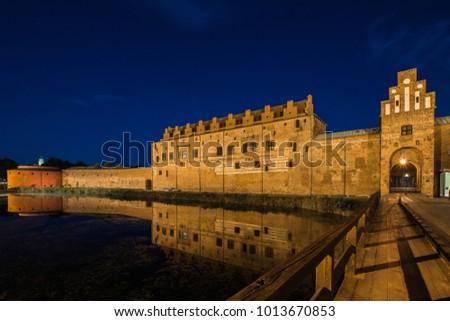 Medieval castle in Malmo - Sweden