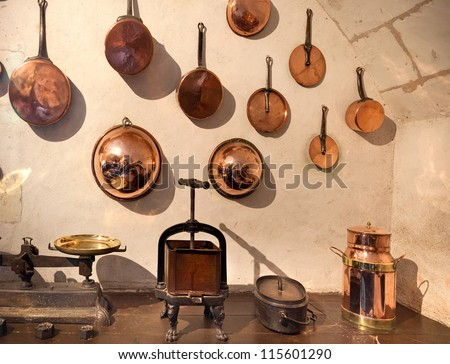 medieval castle kitchen france