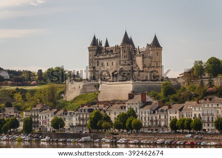 Medieval castle of Saumur, Loire Valley, France