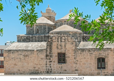 Medieval church of Agia Paraskevi in Paphos. Cyprus