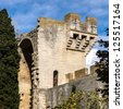 Medieval queen fortress in Tarascon, France. Summer day. - stock photo